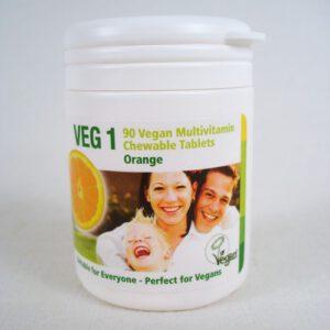 VEG1 – multivitamins for vegans – orange – 90 pcs