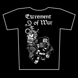 EXCREMENT OF WAR – s/t – t-shirt