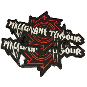 MALIGNANT TUMOUR – logo – vyšívaná zádová nášivka