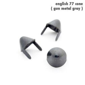 UK 77 STUDS – SMALL GREY – 100 pcs
