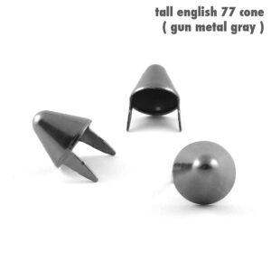 UK 77 STUDS – TALL GREY – 100 pcs