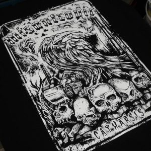 MISANTROPIC – Catharsis Raven – tričko