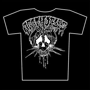 AGATHOCLES – skull logo – tričko