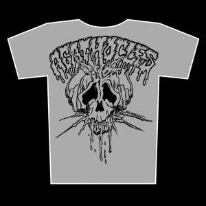 AGATHOCLES – skull logo – zinek tričko