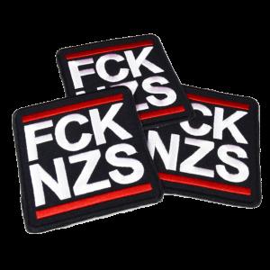 FCK NZS – vyšívaná nášivka