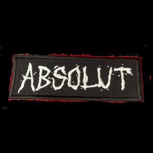 ABSOLUT – logo – vyšívaná nášivka