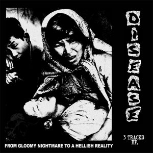 DISEASE / BETTER REALITY – split EP