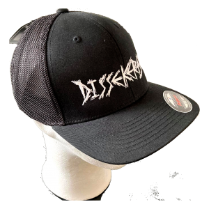 DISSEKERAD – embroidered logo – trucker