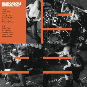 INSTIGATORS – 1993 Demo N Live – LP
