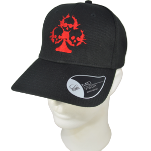 VICTIMS – embroidered skull logo – flexfit
